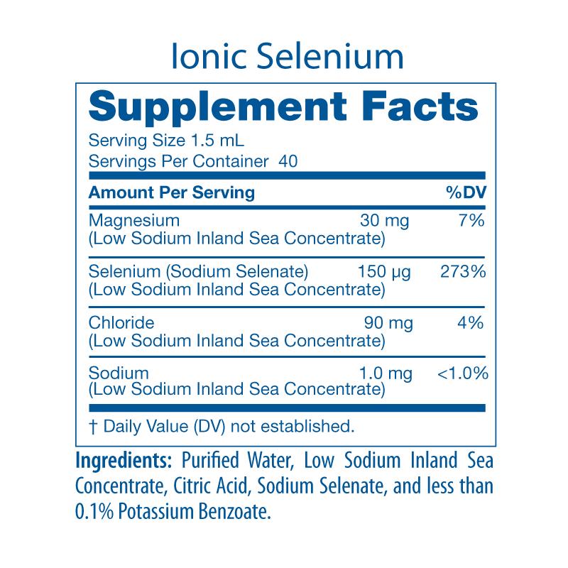 Selenium Facts Panel