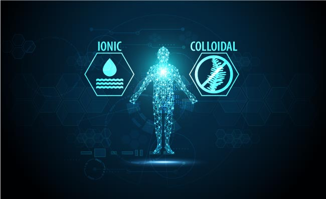Ionic minerals vs. colloidal minerals