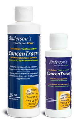 Anderson's Health Solutions ConcenTrace