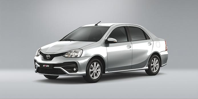 Nuevo Toyota Etios lleno