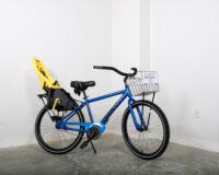 Men's single speed bike w/ baby seat