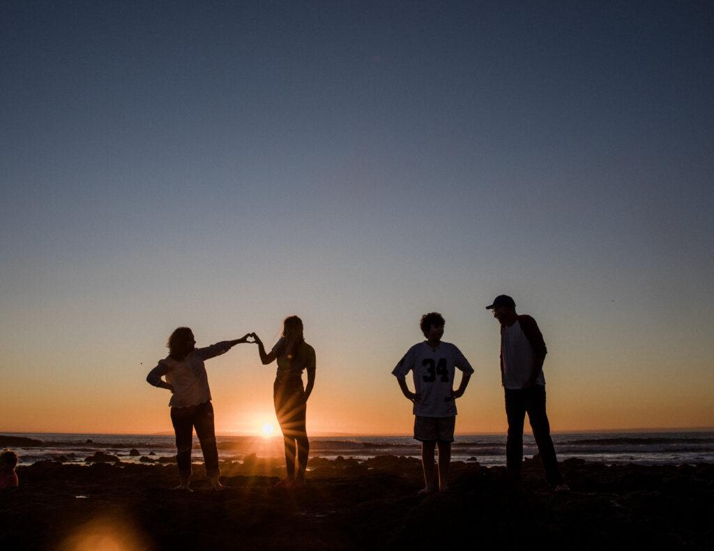 Family Sunset Photo
