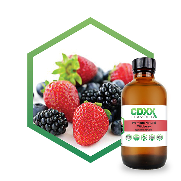 CDXX Flavors Premium Natural Wildberry Flavor
