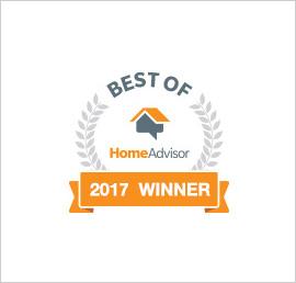 HomeAdvisor Best of 2017 Winner