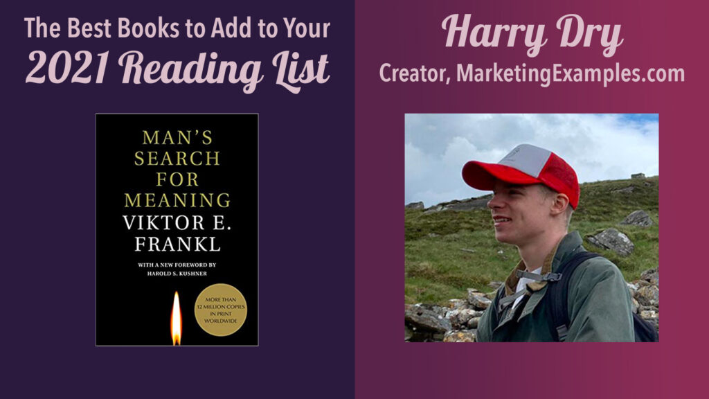 harry dry, creator, marketing examples (2021 book recommendation list)