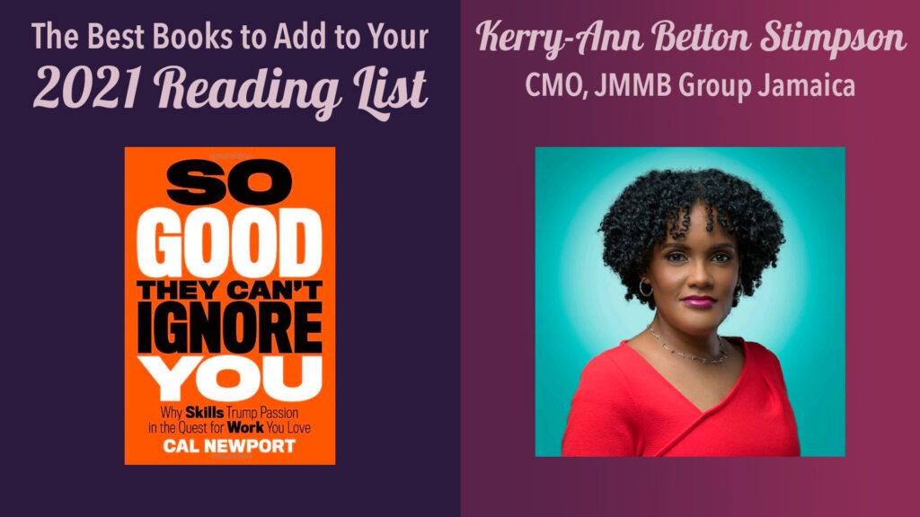 kerry-ann betton stimpson, cmo, jmmb group jamaicabooks to add to your reading list