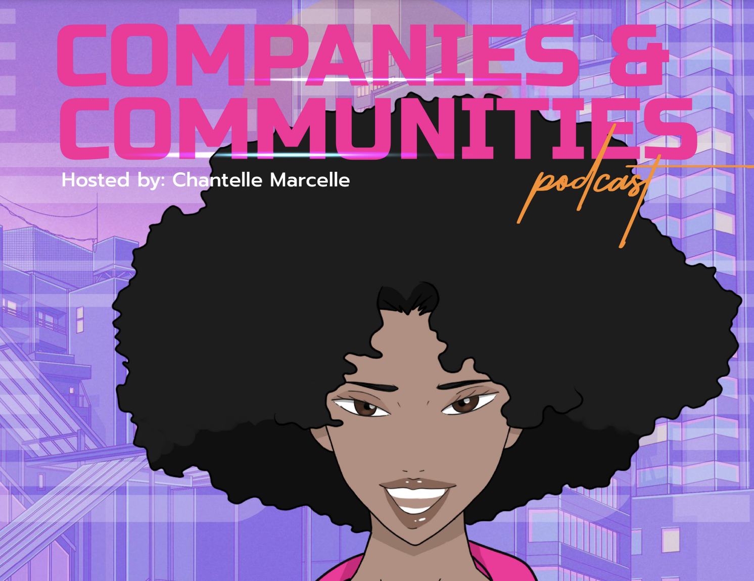 cover art for the companies & communities podcast about community building and growth marketing