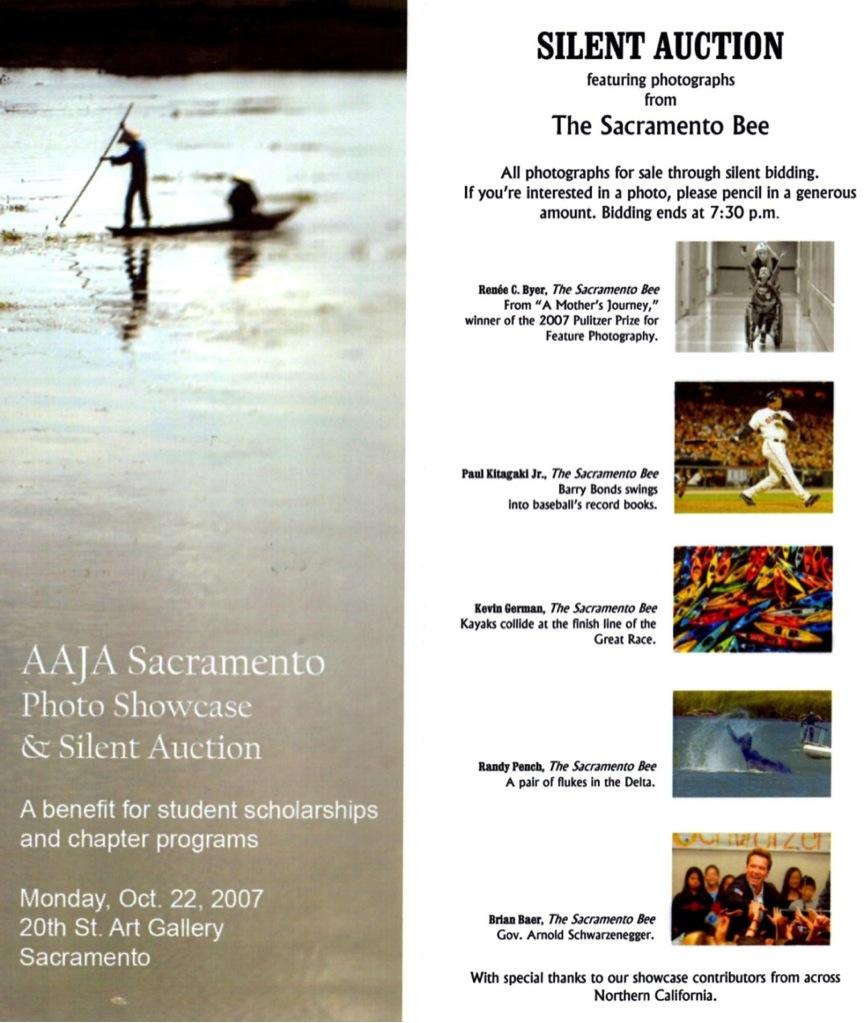 Silent auction 2007