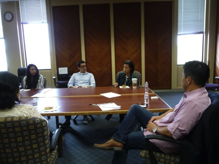 Student outreach at UC Davis
