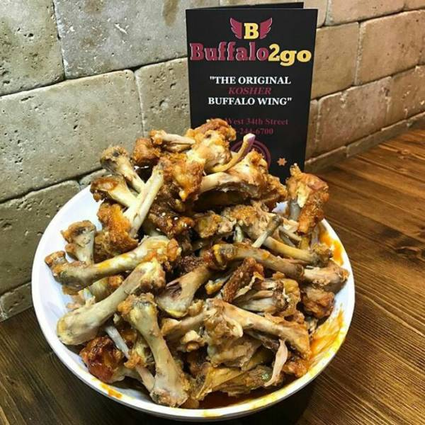 This is how your wings are supposed to look after you eat @Buffalo2go