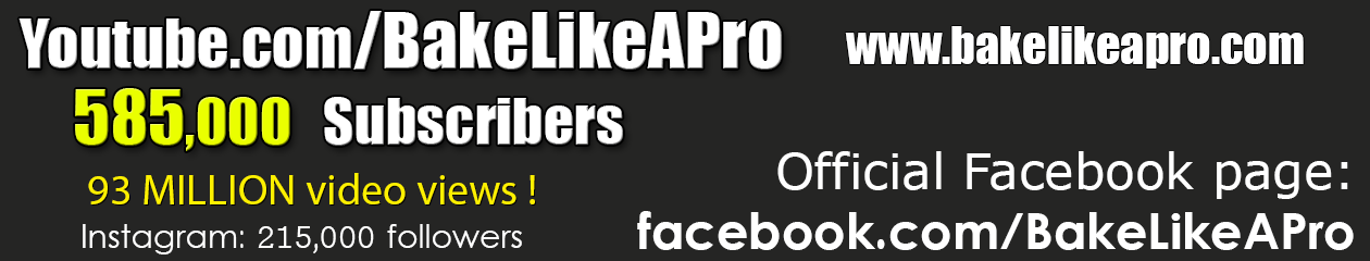 BakeLikeAPro – Your Recipe Source !
