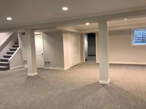 Northbrook Basement Remodel – Elm Ridge Dr
