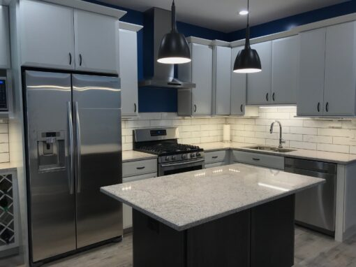 Chicago Logan Square Kitchen Remodel – W. Wrightwood Ave