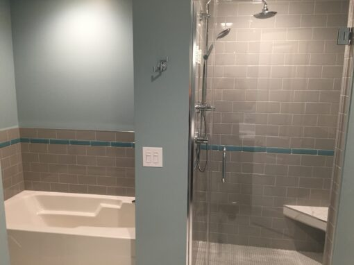 Chicago South Loop Master Bathroom Remodel – S. State St