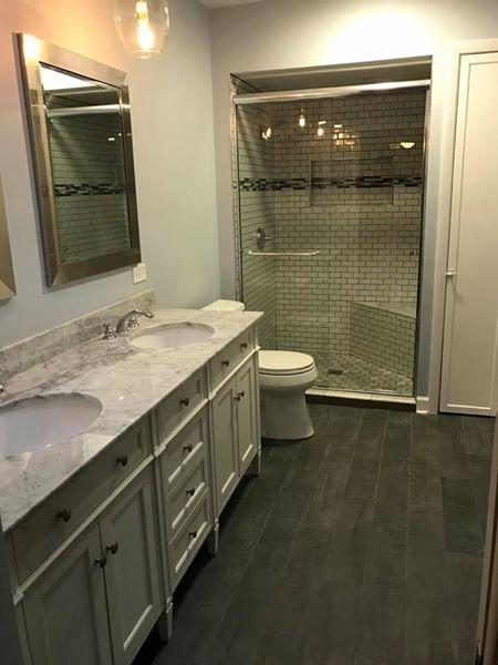 Glenview Bathroom Remodel – Longvalley Rd