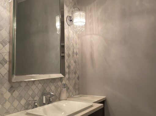 Northbrook Powder Room – Elm Ridge Dr