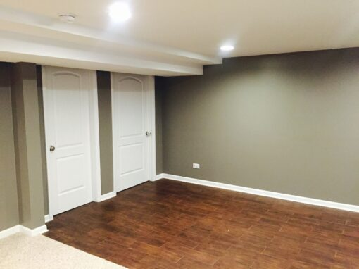 Chicago Basement Remodel – N. Lowell Ave