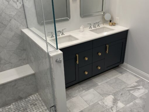 Chicago Wicker Park Master Bathroom Remodel – W. Wabansia Ave