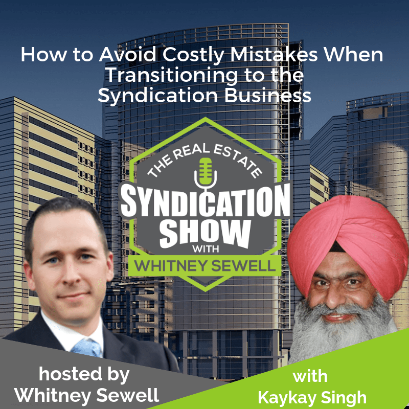 real estate syndication, investing and capital raising