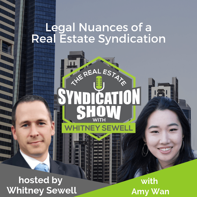 real estate syndication, real estate investing