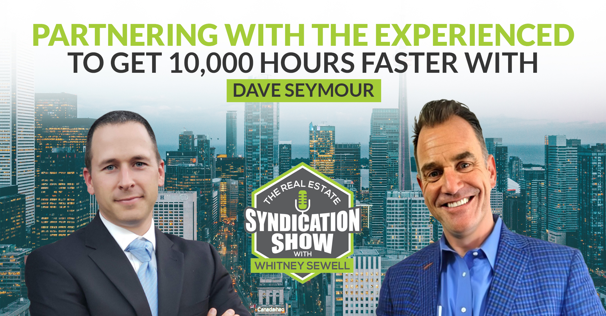 Partnering with the Experienced to Get 10,000 Hours Faster with Dave Seymour