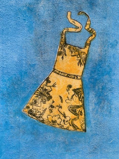 Mother's Apron, 11 x 8 1/2, monotype, $50