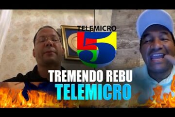 EN TELEMICRO!!! POR CONTENIDOS YOUTUBE (CANCELAN A PAKIRRI)