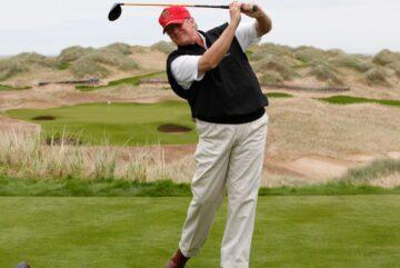 Donald Trump, quiere pasar la Navidad jugando al golf en su club Mar