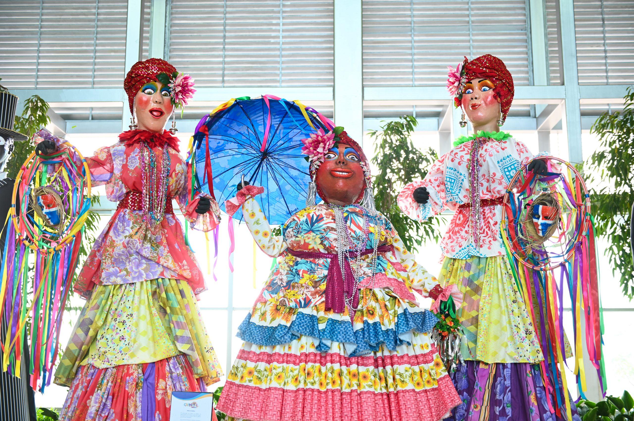 Santo Domingo.- Las tradiciones, alegría y creatividad, que acompañados de un variado colorido traen nuestras fiestas carnavalescas cada mes de febrero