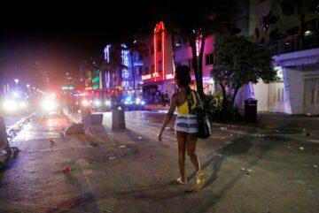 Se impuso un toque de queda de emergencia para Miami Beach