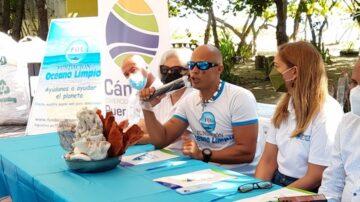 Cámara de Comercio de Puerto Plata y Fundación Océano Limpio suscriben convenio de colaboración e instalan biobarda