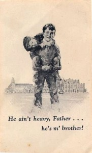 Father Flanagan and Boys Town - He Ain't Heavy He's my Brother