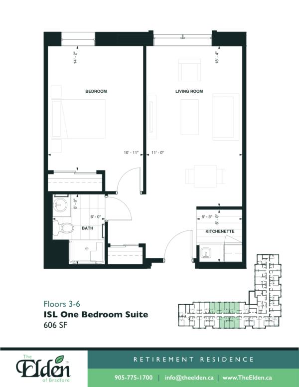 ISL One Bedroom Suite