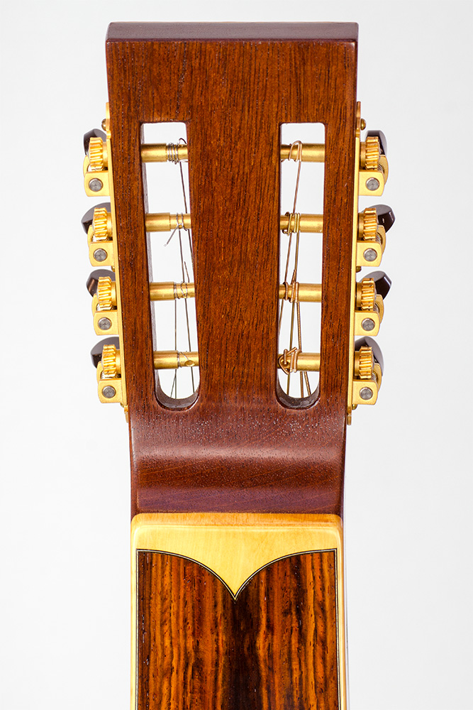 David Dart Cocobolo & Spruce 8-String Hawaiian Steel Guitar, Style 5