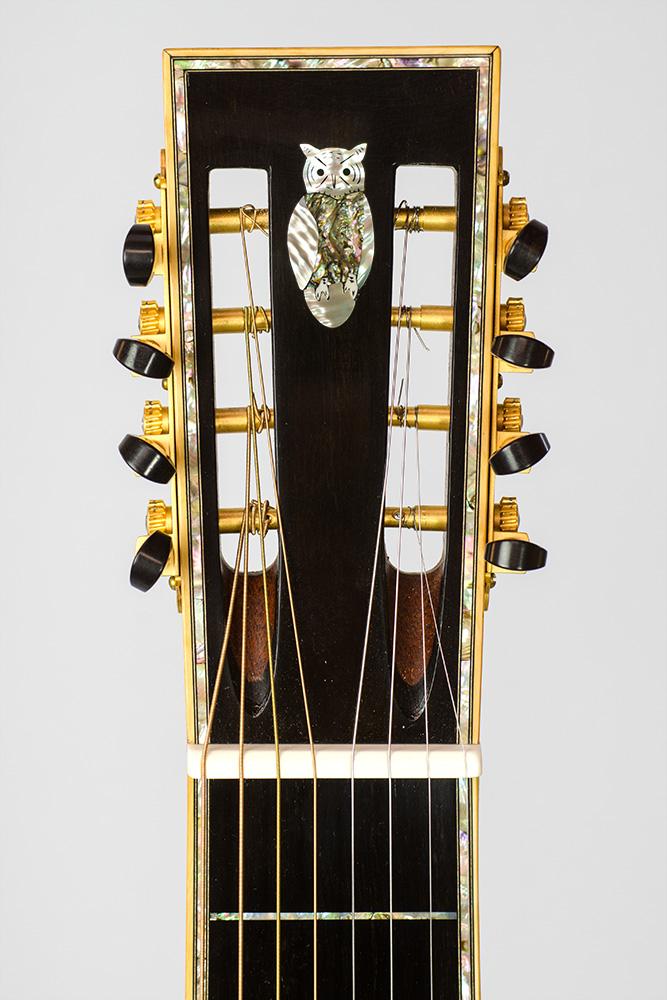 David Dart Cocobolo & Spruce 8-String Hawaiian Steel Guitar, Style 5