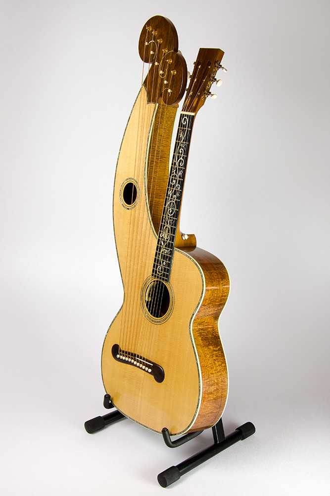 David Dart Dyer-Style Harp Guitar | #1-210 | May 2012