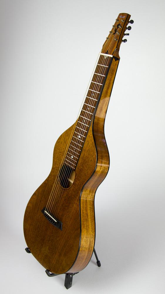 David Dart Mahogany 8-String Hawaiian Steel Guitar, Style 2