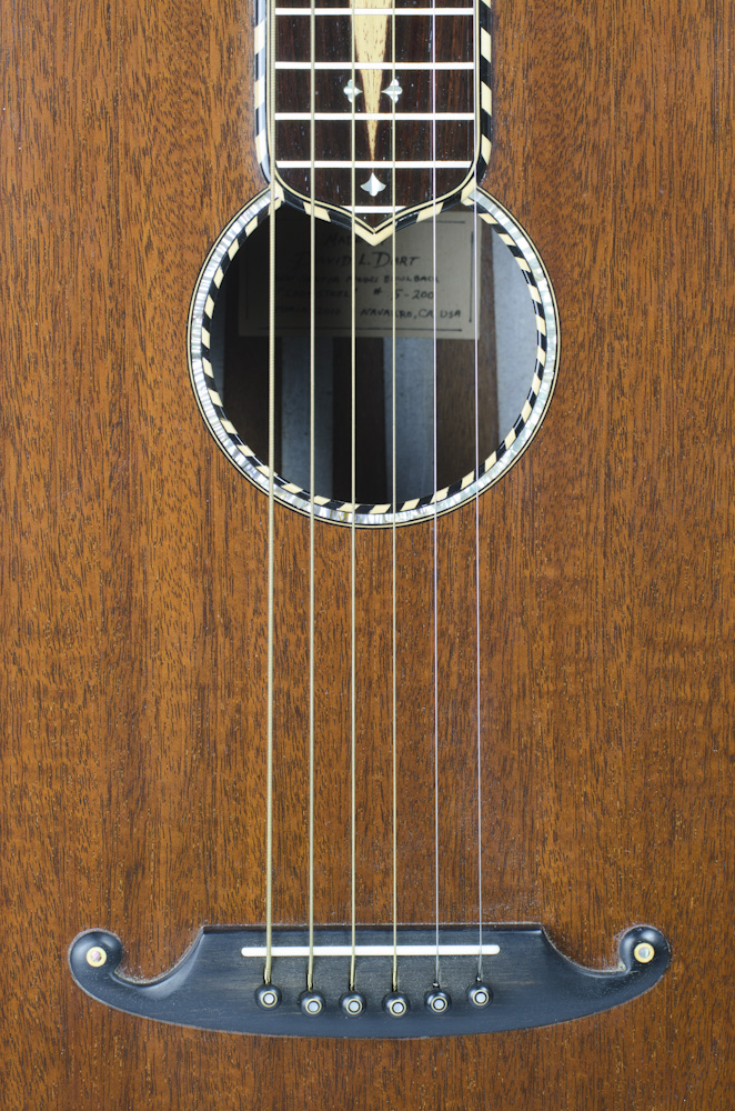 "David Dart Mahogany Bowlback Steel Guitar - ""Lady Steel"""