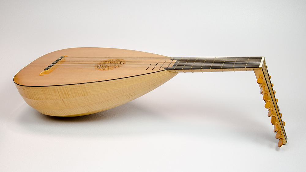 David Dart Maple & Spruce Lute