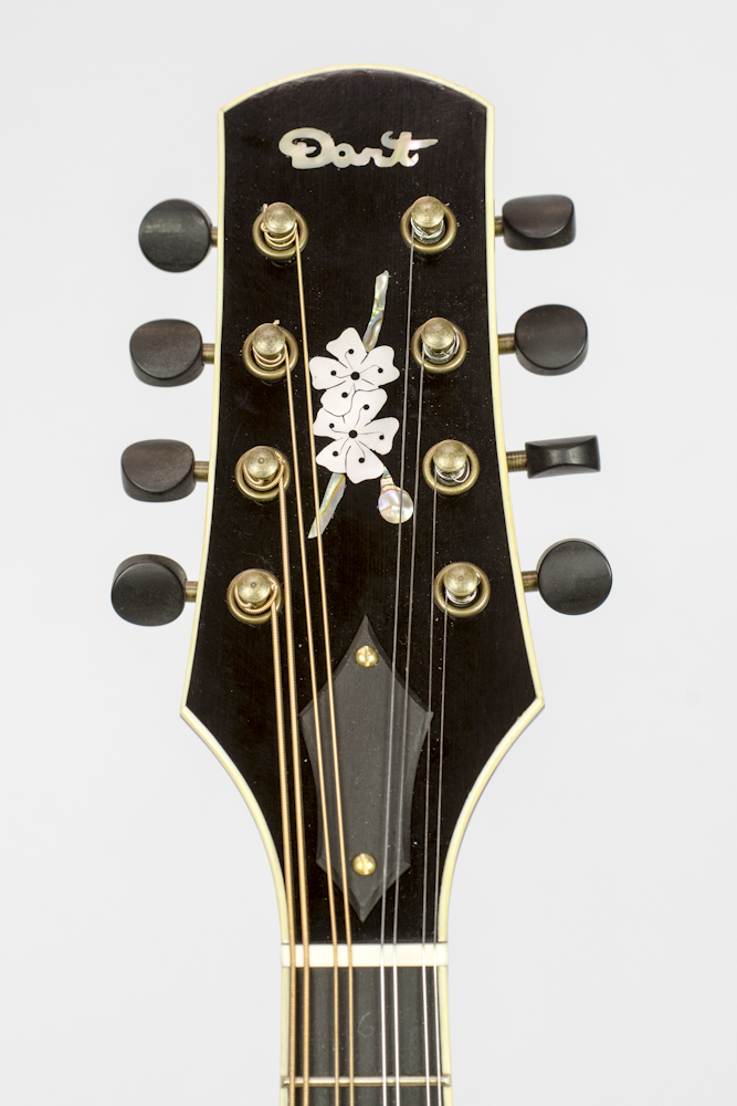 David Dart Maple A5 Cherry Burst Mandolin (2015)