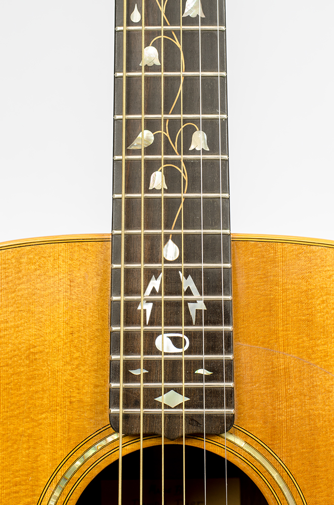 David Dart Tree of Life fingerboard inlay, from a Bi-Level Guitar