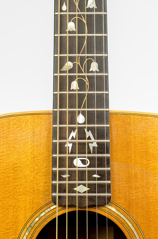 David Dart Tree of Life fingerboard inlay, from a Bi-Level Guitar