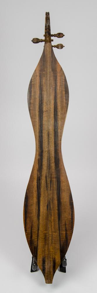 David Dart Brazilian Rosewood & Spruce 3-String Dulcimer, Goncalo Alves peghead (1967)