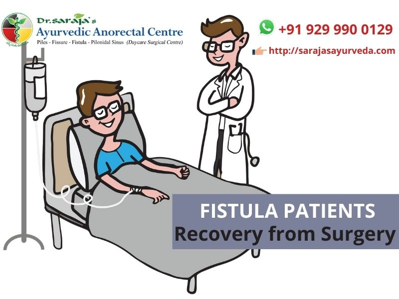 Fistula Patients Recovery from Surgery