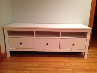 Is it a TV stand or a great entryway storage bench?!