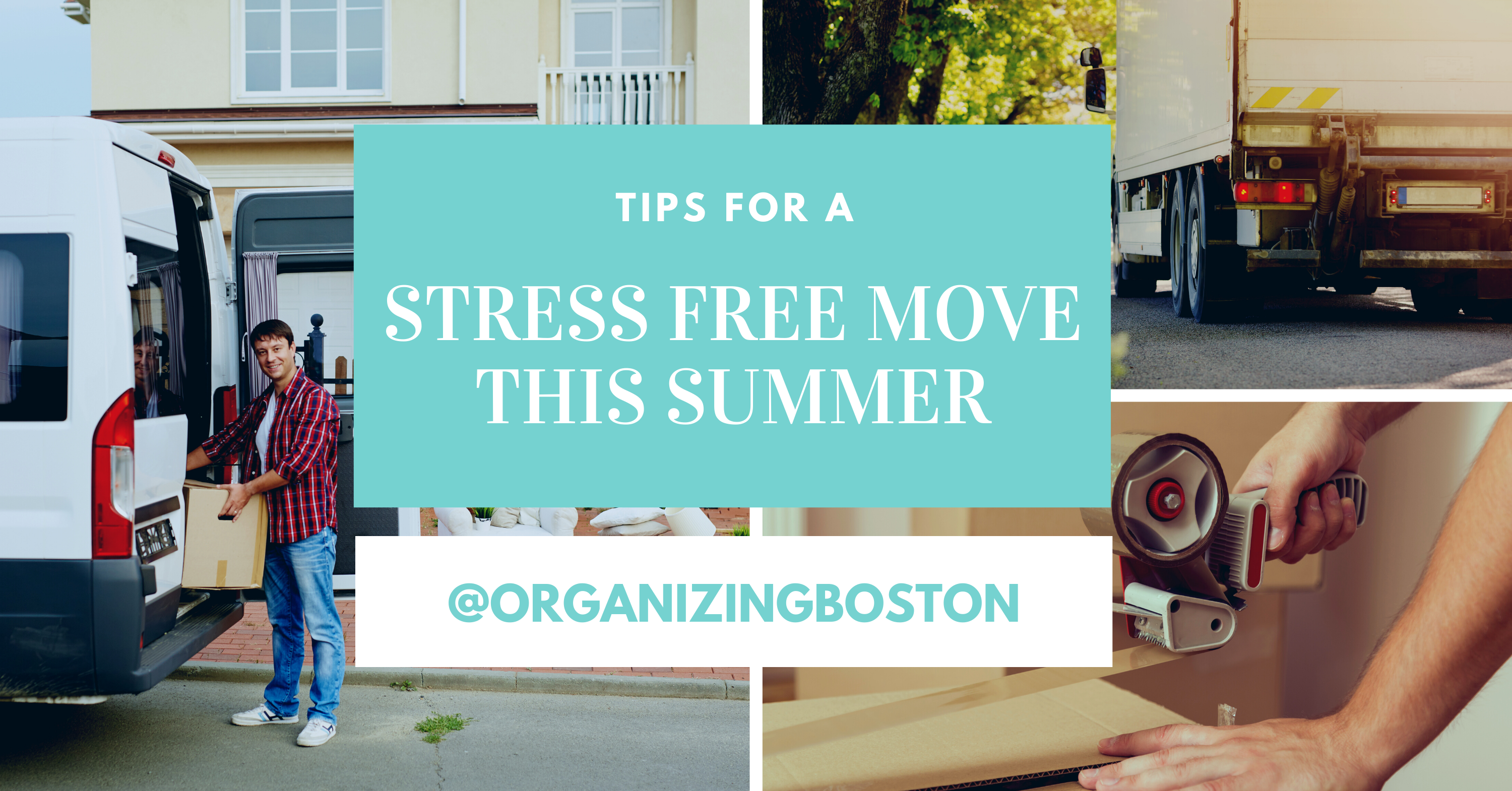 Tips for a Stress-Free Move this Summer!