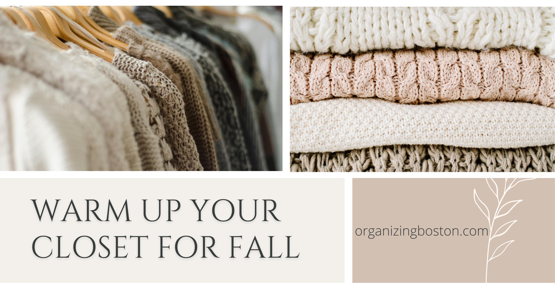 Organizing the Switch to Sweater Season