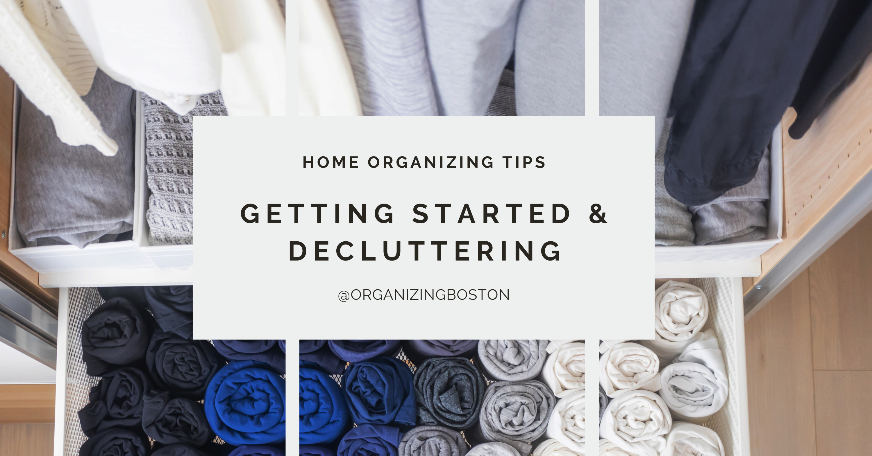 Home Organizing Tips – Getting Started and Decluttering
