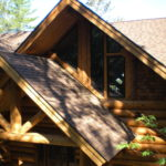 log home Roof lines