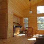 Kitchen, one room cabin